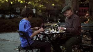 Boy & Chess Player  med shot